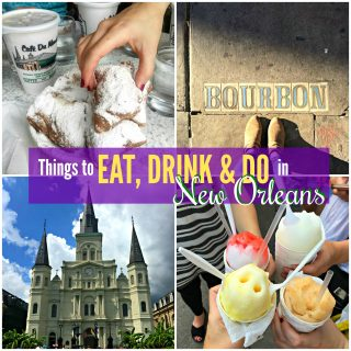 Things to Eat, Drink and Do in New Orleans! My top picks for NOLA's best sightseeing, eating and drinking. Laissez bon temps rouler!