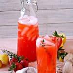 Strawberry-Thyme Lemonade