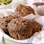 Healthy Zucchini Superfruit Muffins