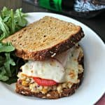 "Chickpea ""Tuna"" Melt Sandwich"