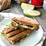 Manchego, Fig & Apple Panini