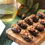Honey-Cinnamon Cream Cheese Stuffed Dates