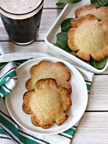 """Paddy Pockets - Filled shamrock hand pies! These easy, festive St. Patrick's Day appetizers will outshine the pot of gold at the end of the rainbow! Shamrock-shaped """"hot pockets"""" stuffed with your favorite fillings are a perfect addition to your March menus."""