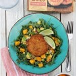 Summertime Crab Cake Salad